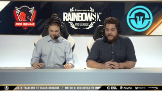 ReD DevilS e-Sports vs. Immortals – Rainbow Six Pro League – Season X – LATAM