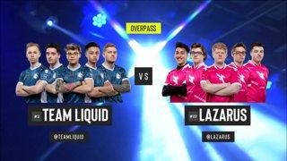 CS:GO - Liquid vs. Lazarus [Overpass] Map 2 - Group B - ESL Pro League Season 9 Americas