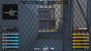 CS:GO - Fierce Esports vs London Esports - Playoffs - Game 2 - ESL Premiership Spring 2019