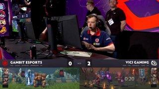 [RU] Vici Gaming vs Gambit Esports, Game 3, StarLadder ImbaTV Dota 2 Minor Grand Final