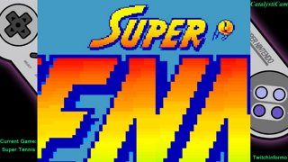 super chronquest game #22 Super Tennis
