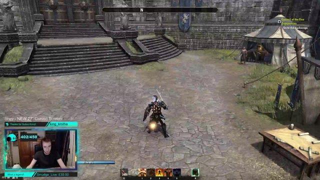 'Counter-Balance' HIGH DAMAGE Magicka Dk Build   Dragon Bones Patch