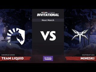 видео: Liquid vs Mineski, 1