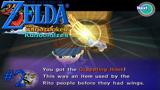 Zelda Windwaker randomizer: Dragon Roost Grapple hook [2]