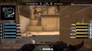 VOD: 📽️ Skyfire vs Athletico - BO1 - mirage [ESEA MDL Season 30 Australia]