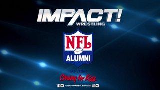 IMPACT Wrestling and NFL Las Vegas Alumni Press Conference - February 15, 2019