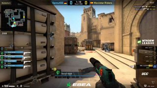 (RU) ESEA MDL S30 EU | Movistar Riders vs Sprout | bo3 | by @AlexeyDeq - map2