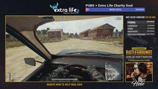 PUBG + ExtraLife Charity Event #ThisIsBattleRoyaleForTheKids