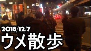 [BeasTV] ウメ散歩/Daigo's Stroll 2018/12/7