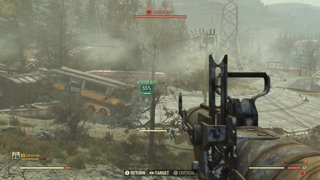 PCG1 Plays Fallout 76 | Tough Sentry Bot Versus Missile Launcher
