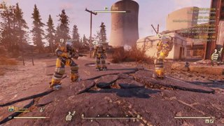 PCG1 Plays Fallout 76 | Photo Bomb with Unaware Power Armor Guys