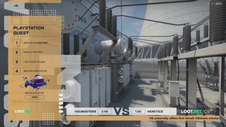 (EN) Youngsters vs Heretics | map 1 | Loot.bet/CS Season 3 | by @oversiard  & @VortexKieran