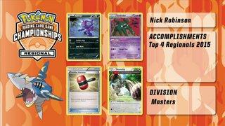 2015 Pokémon Autumn Regional Championships Top 4