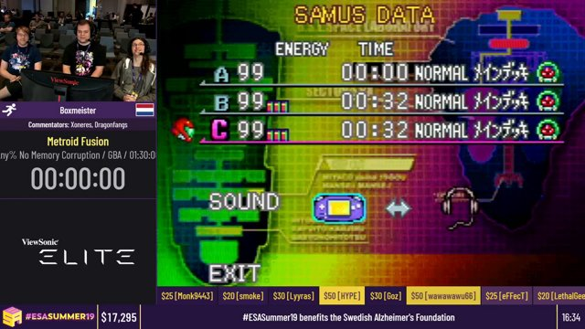 Metroid Fusion [Any% NMC] by Boxmeister - #ESASummer19