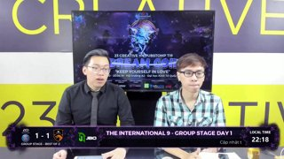 Nổi bật: The International 9 | Group Stage Day 1 | 23 Creative VN