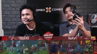 [FIL] NAVI vs TIGERS (BO5) | Game 1 I Grand Finals | Dream League Season 10 Minor Playoffs