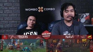 [FIL] NAVI vs TIGERS (BO5) | Game 3 I Grand Finals | Dream League Season 10 Minor Playoffs