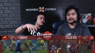 [FIL] NAVI vs TIGERS (BO5) | Game 4 I Grand Finals | Dream League Season 10 Minor Playoffs
