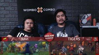 [FIL] NAVI vs TIGERS (BO5) | Game 5 I Grand Finals | Dream League Season 10 Minor Playoffs