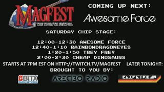 MAGFest 12 - Loading - Chip Stage - Saturday