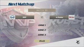 LCK Summer: SKT vs. KZ - MVP vs. KT