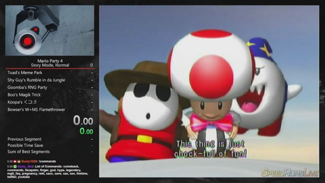 Mario Party 4 Story Mode Normal Difficulty Pb 4 58 36