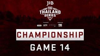 [Championship Division] JIB PUBG Thailand Series PHASE 3  Game 14