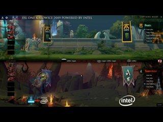 видео: 1 Fnatic -vs- Aster, ESL ONE Katowice, комментируют Adekvat & Mortalles