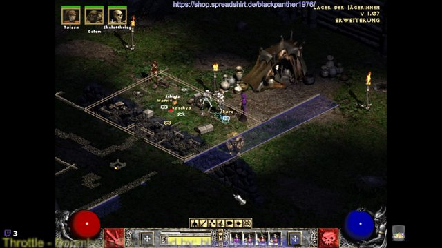 #Classic #LP #Diablo2 #LoD in #HD and with #Glide Grafik Part 5