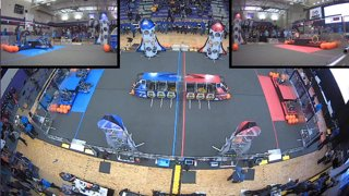 2019 FIRST Robotics Competition - Aerospace Valley Regional - Multiview - Friday