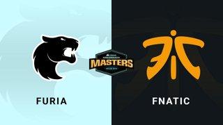 Furia vs Fnatic - Group B - Mirage - CORSAIR DreamHack Masters Dallas 2019