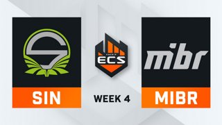 Singularity vs MiBR - Map 3 - Overpass (ECS Season 7 - Week 4 - DAY1)