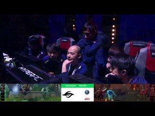 видео: MegaFon Winter Clash   Secret vs PSG.LGD   by Lost &Jam