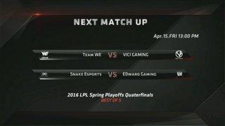 LPL Spring Playoffs - Round 2