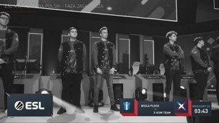 Wisła Płock vs x-kom team   ESL Mistrzostwa Polski Wiosna 2019   W2D3