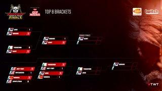 Tekken 7: CGG | TissueMon vs. EchoFox | JDCR - Tekken World Tour 2017 Finals Top 8