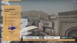 (EN) Youngsters vs Ad hoc | map 2 | Loot.bet/CS Season 3 | by @skrivcasts & @VortexKieran