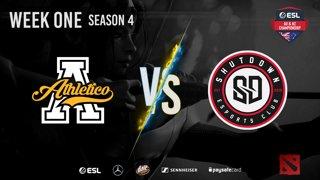 Athletico vs. ShutdownESC - Stage 1, Matchday #2 | ESL AUNZ Championship Season 4 [#dota2]