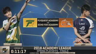 FLYA vs. FOXA | Finals | NA Academy Spring | FlyQuest Academy vs. Echo Fox Academy (2018)