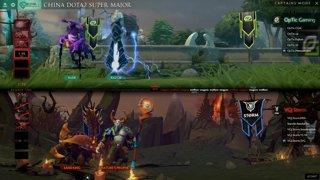 Optic Gaming vs VG.J Storm Game 1 (BO2) l China Dota2 Supermajor - NA Qualifier