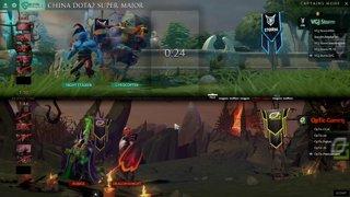 Optic Gaming vs VG.J Storm Game 2 (BO2) l China Dota2 Supermajor - NA Qualifier