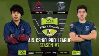 AIS CS:GO Pro League Season#7 R.4 | ALPHA.RED VS. LUCIDDREAM MAP1 MIRAGE