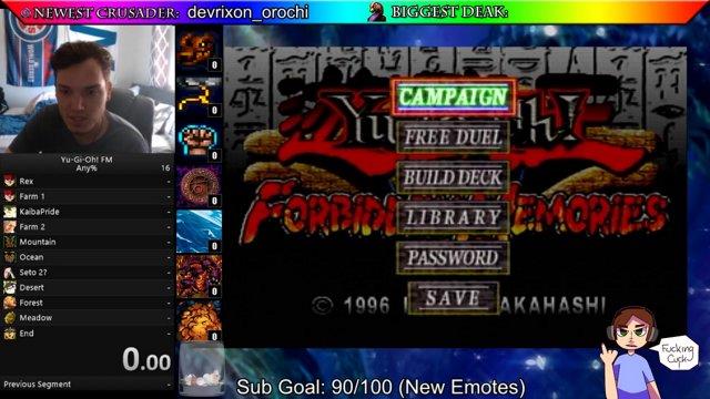 Yu-Gi-Oh! Forbidden Memories Any% [No Card Duple, No RNG Manip ] in  6:43:14 05