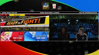 SSC 2019 SSBU - eUnited Samsora (Peach) VS TSM Tweek (Trainer) Smash Ultimate Winner's Finals