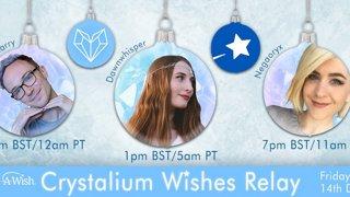 ʕ •ᴥ•ʔ Charity Fundraiser for Make-A-Wish | Crystalium Relay with HealMeHarry & Dawnwhisper ʕ •ᴥ•ʔ