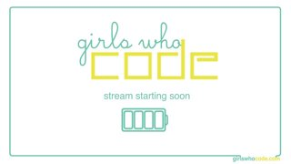 Charity Stream for Girls Who Code