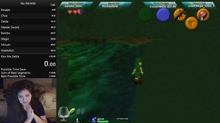 botw swim to chus tutorial, lol
