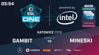 LIVE: ForTheDream vs Forward Gaming - Groupstage - ESL One Katowice 2019