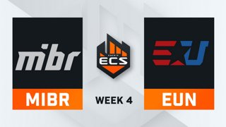 MiBR vs Eunited - Map 1 - Mirage (ECS Season 7 - Week 4 - DAY2)