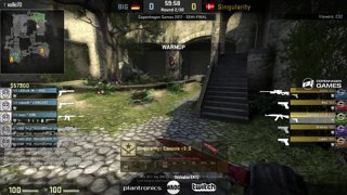 BIG vs. Singularity [Map 1] - Copenhagen Games 2017